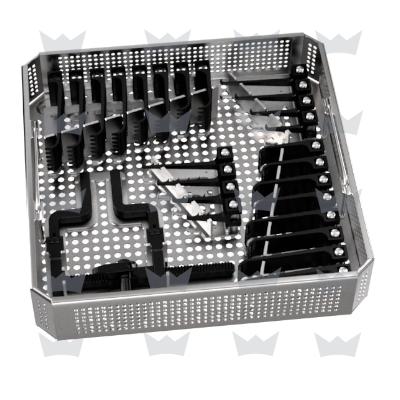 Bild von MCC Set klein mit Siebkorb und beweglichem Sperrer, Valven paarweise, Haken einzeln