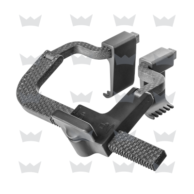 Bild von Carbon/PEEK Retraktor Rahmen, max. Spreizweite 85 mm, knickbare Arme